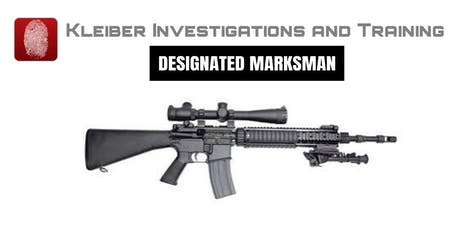 Designated Marksman 24 Hour Certification Course tickets