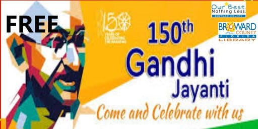 8 to 88 Years Old, Jayanti Craft to honor Gandhi at West Regional Library