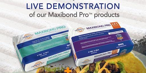 Cement Pro Maxibond Pro™ Demonstrations