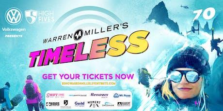 "Warren Miller's ""Timeless"" - Reno Premiere tickets"