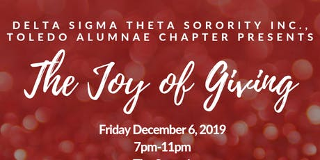 Joy of Giving Presented by Delta Sigma Theta Sorority Inc., TAC tickets