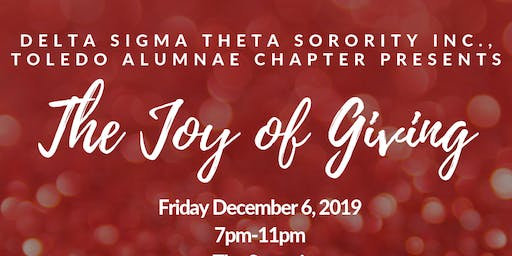 Joy of Giving Presented by Delta Sigma Theta Sorority Inc., TAC