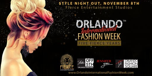 Orlando International Fashion Week Style Night Out - Sip, Mix, Mingle,Party