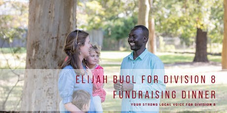 Elijah Buol for Division 8 fundraising dinner tickets