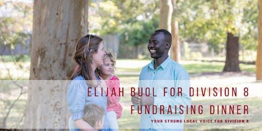 Elijah Buol for Division 8 fundraising dinner