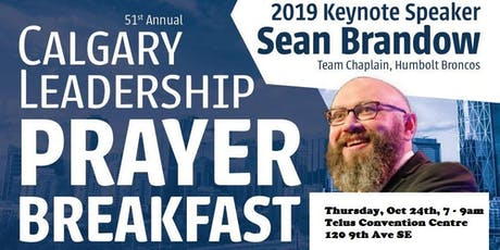 Annual Calgary Prayer Breakfast - StMU Tables tickets