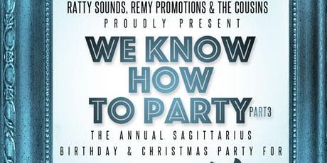 Dj ratty birthday party we know how to party pt 3 tickets