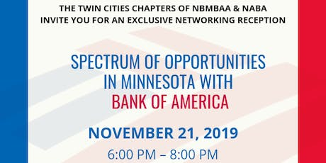 Spectrum of Opportunities in Minnesota with Bank of America tickets