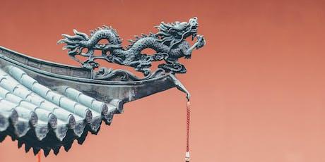 História das Dinastias Chinesas, com Liu Zhiming e Instituto Confúcio ingressos