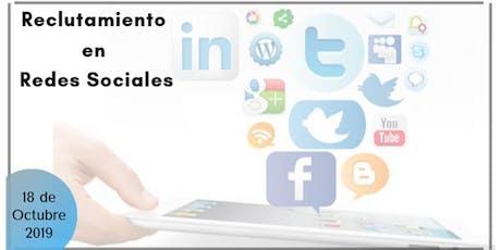 Curso Reclutamiento en Redes Sociales entradas
