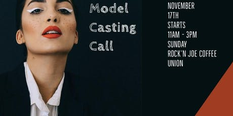 Model Casting Call - Experience The Runway tickets