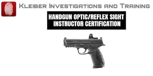 Reflex Site 16 Hour Certification Course