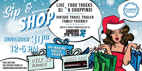 4th Annual Holiday Sip and Shop tickets