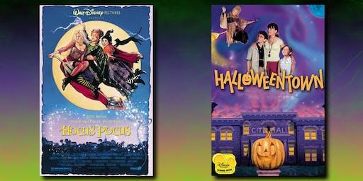 Halloween Double Feature: Hocus Pocus & Halloweentown - FREE!