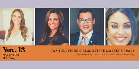 Free Event: Tax Solutions and Santa Barbara Housing Marketing Update tickets