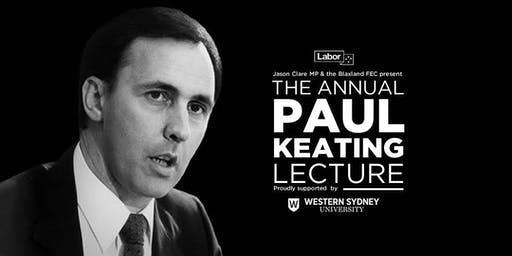 The Paul Keating Lecture