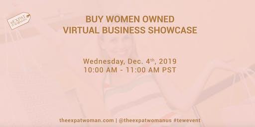 BUY WOMEN OWNED: Virtual Business Showcase