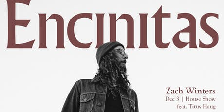ZACH WINTERS (feat Titus Haug) | Encinitas, CA tickets