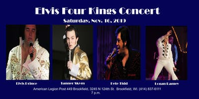 Elvis Four Kings Concert
