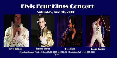 Elvis Four Kings Concert tickets