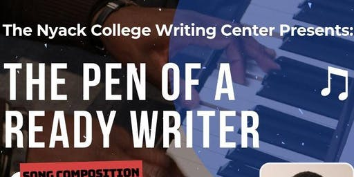 The Pen of a Ready Writer - Song Composition Workshop Series 2