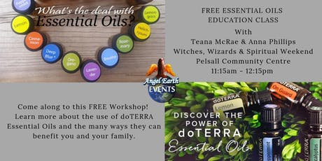 Free Essential Oils Class with Teana McRae & Anna Phillips tickets