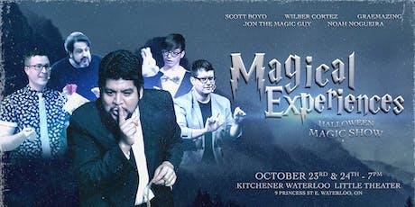 Magical Experiences: Halloween Magic Show tickets