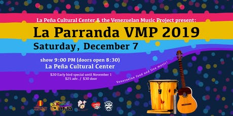 La Parranda VMP 2019: Venezuelan Food and Live Music tickets