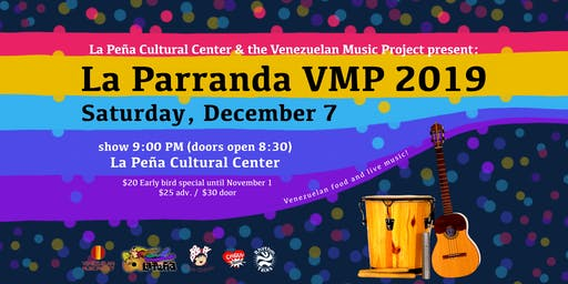 La Parranda VMP 2019: Venezuelan Food and Live Music