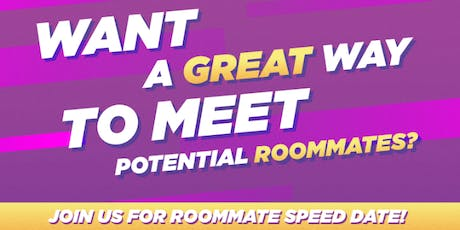 Roommate Speed Date tickets