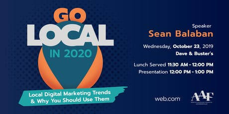 Go Local in 2020 tickets