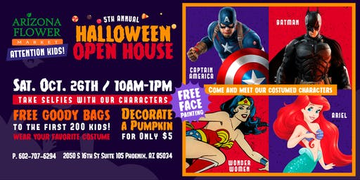 5th Annual Halloween Open House!