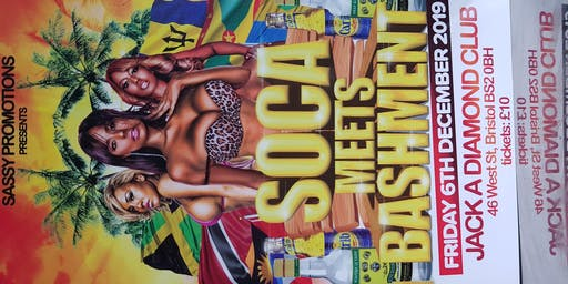 Sassy Promotions Presents Soca Meets Bashment