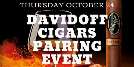 Davidoff Pairing Event at Pairings Cigar Bar tickets