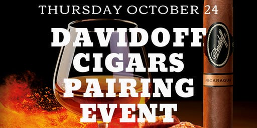 Davidoff Pairing Event at Pairings Cigar Bar