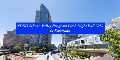 NEDO Silicon Valley Program Pitch Night Fall 2019 in Kawasaki