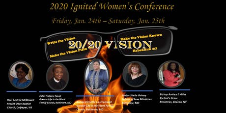 2020 Ignited Women's Conference - 2020 Vision tickets