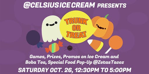 Celsius Presents: TRUNK OR TREAT 2019