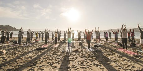Saturday Groove: Beach Yoga with Julianne tickets