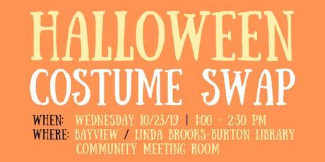 Bayview Linda Brooks-Burton Branch Library Halloween Costume Swap tickets