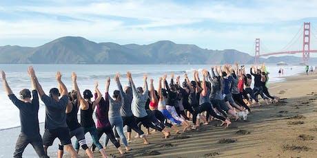 Sunday Zen Beach Yoga with Julianne! tickets