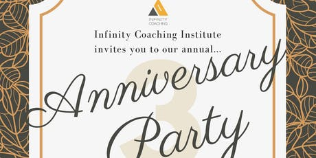 Infinity Coaching 3rd Anniversary Party tickets