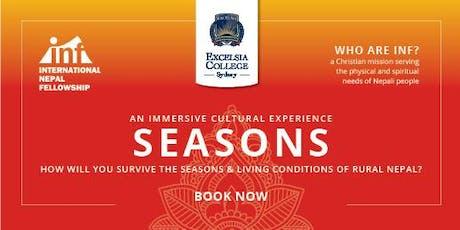 SEASONS: International Nepalese Fellowship Charity Fundraiser tickets