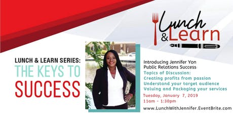 Public Relations Success Lunch & Learn with Jennifer Yon tickets