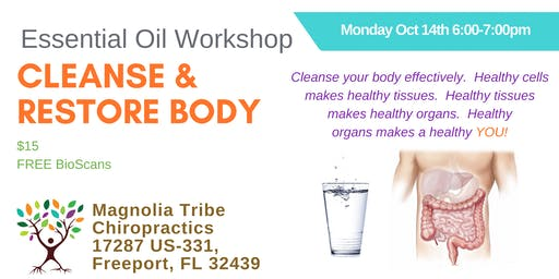 Cleanse & Restore Your Body Workshop
