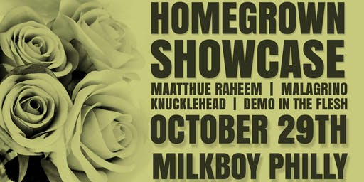 Homegrown Open Mic Showcase