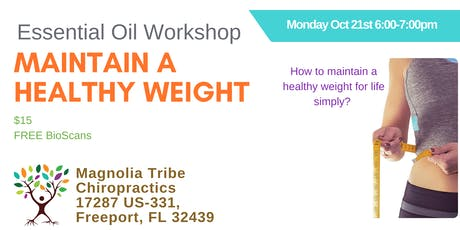 Maintain Healthy Weight Naturally Workshop tickets