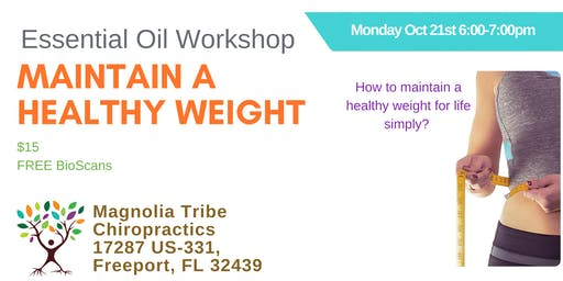 Maintain Healthy Weight Naturally Workshop