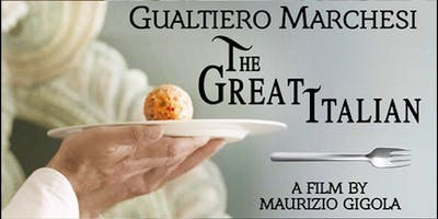 """The Great Italian"" Screening, Q&A with Maurizio Gigola, and Reception"