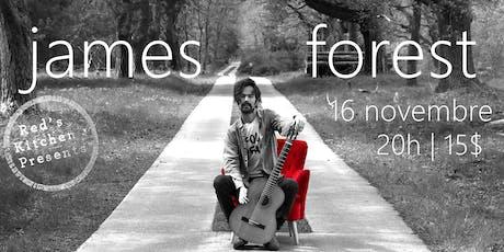 James Forest LIVE @ Red's Kitchen billets